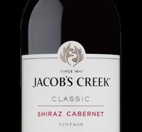 JACOBS CREEK CLASSIC SHIRAZ CABRENET 2019